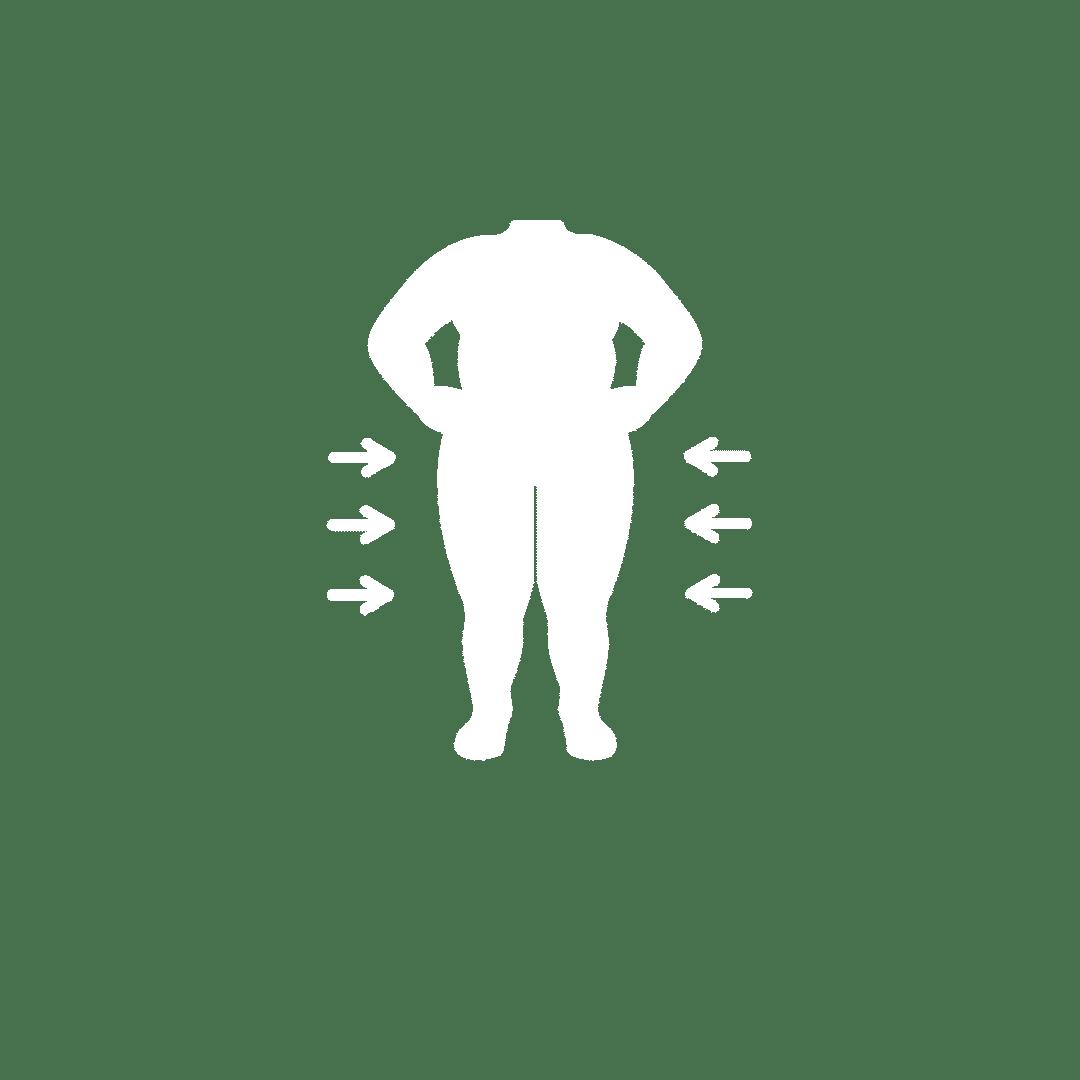 An Overweight Man/Woman/Child